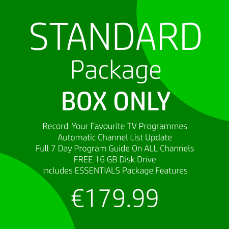 Standard Package : Box Only