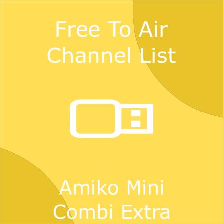 Amiko Mini Combi Extra Channel List